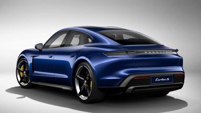 Изображение 2: Porsche Taycan Turbo S 2020