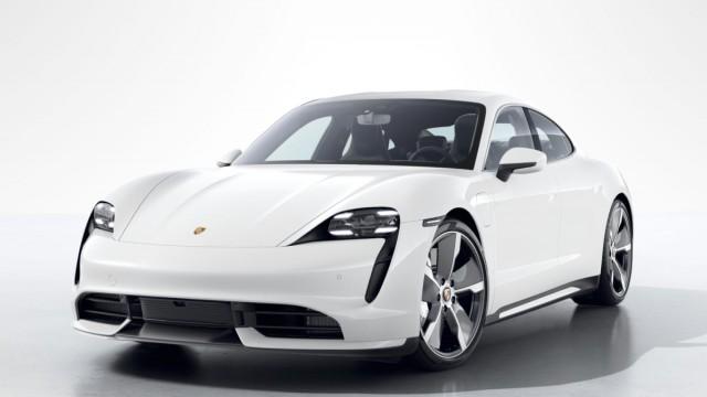 Изображение 1: Porsche Taycan Turbo 2020